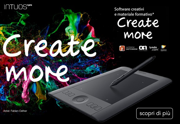 Wacom - Create More