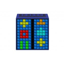 Divoom Timebox \\ Altoparlante Bluetooth con pixel LED programmabili - Blu