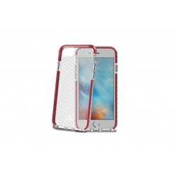 CELLY HEXAGON - IPHONE 7/8/SE \\ HARD CASE - RED