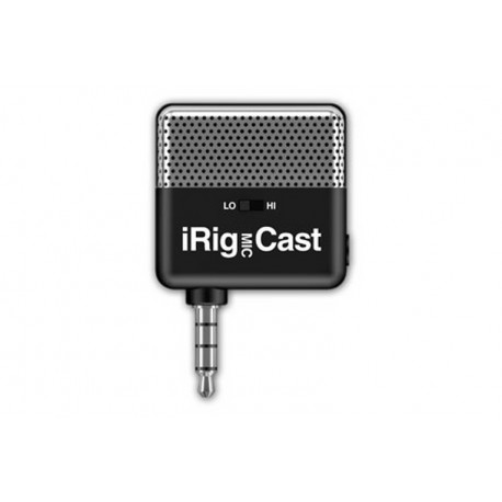 IK Multimedia iRig Mic Cast \\ Microfono tascabile - jack 3,5mm