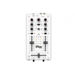 IK Multimedia iRig Mix \\ Mixer portatile per dispositivi iOS - jack 3,5mm
