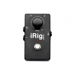 IK Multimedia iRig Stomp \\ Interfaccia stompbox per chitarra per iOS - jack 3,5mm