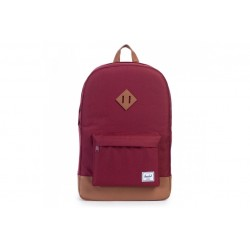 "Herschel Heritage Backpack \ Zaino con tasca notebook 15"" - 21,5L - Windsor wine/Tan"