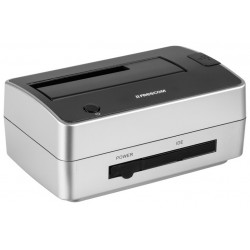 "Freecom Drice Dock Pro \ Docking station USB 2.0 per SATA 2.5""/3.5"" e PATA 3.5"""