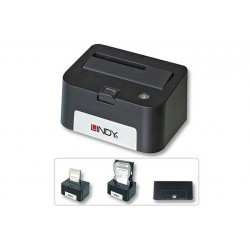 "Docking Station USB 2.0 per HD SATA da 2,5""/3,5"""