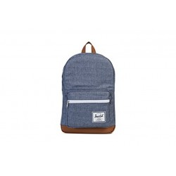 "Herschel Pop Quiz Backpack \ Zaino con tasca notebook 15"" - 22L - Dark chambray crosshatch"
