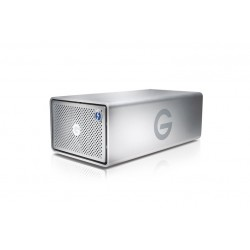 G-Technology G-RAID Removable Thunderbolt 2 USB 3.0 - 12TB \\ Sistema di archiviazione Hard Drive - Silver