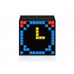 Divoom Timebox \\ Altoparlante Bluetooth con pixel LED programmabili - Nero