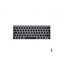 "Aiino Keyboard Protector \ Copritastiera per MacBook 12"" - Black"