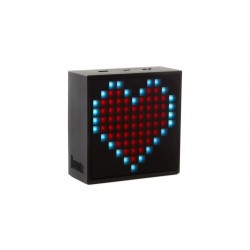 Divoom Timebox-mini \\ Altoparlante Bluetooth con pixel LED programmabili - Nero