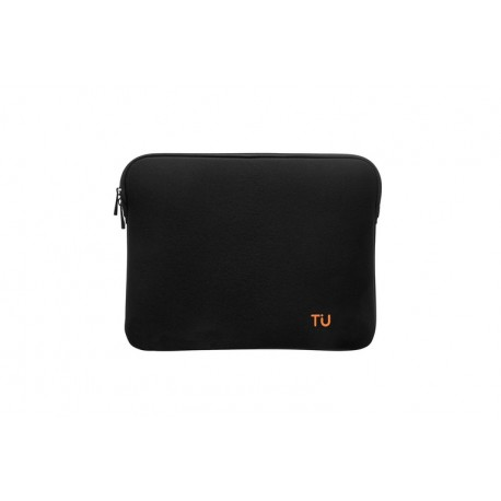 "Tunit Memory Sleeve - MacBook 12"" \\ Custodia in memory foam - Black/inner orange"