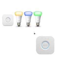 Philips Hue E27 Color Starter Kit + Bridge