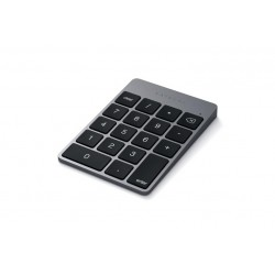 Satechi Aluminum Slim BT Keypad \\ Tastierino numerico ricaricabile Bluetooth - Space Gray