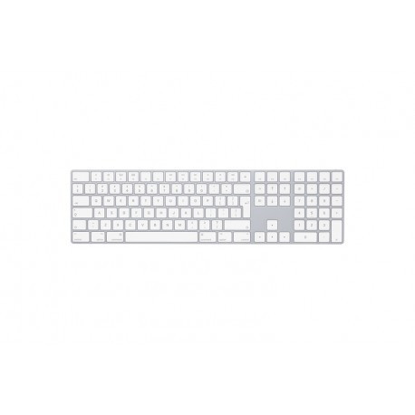 TASTIERA MAGIC KEYBOARD APPLE CON TASTIERINO NUMERICO \\ ARGENTO - INGLESE INTERNAZIONALE
