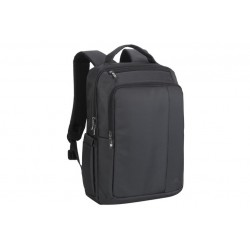 "Rivacase Central Laptop Backpack \ Zaino multifunzione con tasca notebook 15,6"" - Black"