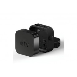 elago Multi-Mount \\ Supporto per Apple TV - Nero in silicone