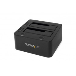 Docking Station USB 3.0 per doppio Hard Disk/SSD