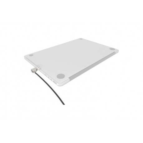 Ledge Security Lock Slot adapter for Macbook Air \\ Silver