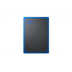 WD My Passport Go - 500GB \\ SSD esterno USB 3.0 - Blue