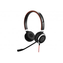 Jabra Evolve 40 MS \\ Cuffie da ufficio stereo/mono on-ear - USB/jack 3,5mm - Black