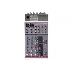 Phonic AM85 \\ Mixer compatto 4 canali