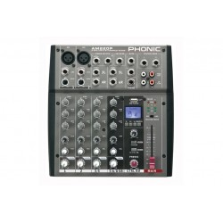 Phonic AM220P \\ Mixer compatto 4 canali