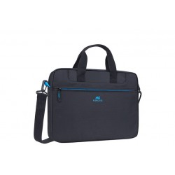 "Rivacase Regent Laptop Bag \ Borsa a tracolla porta notebook 15.6"" - Black"