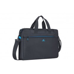 "Rivacase Regent Laptop Bag \ Borsa a tracolla porta notebook 16"" - Black"