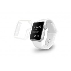 Guscio Ozaki Crystal 38mm Apple Watch \\ Trasparente