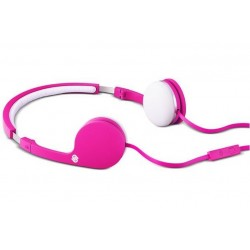 Urbanista BARCELONA \\ Cuffie on-ear - jack 3,5mm - Pink panther