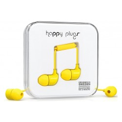 Happy Plugs In-ear \\ Auricolari in-ear - jack 3,5mm - Giallo