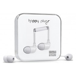 Happy Plugs In-ear \\ Auricolari in-ear - jack 3,5mm - Bianco