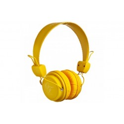 Original Fake \\ Cuffie on-ear - jack 3,5mm - Giallo