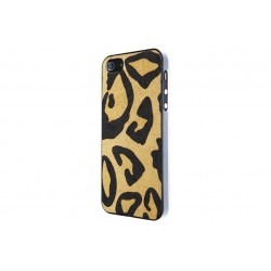 Benjamins Leopard Hairy Leather - iPhone 5/5s \\ Hard case