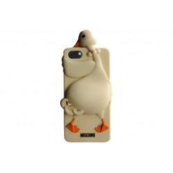 Moschino Goose - iPhone 5/5s \\ Silicon case - Beige
