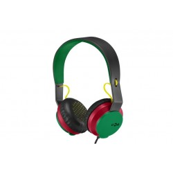 Marley Roar \\ Cuffie on-ear - jack 3,5mm - Rasta