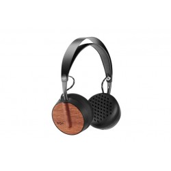 Marley Buffalo Soldier BT \\ Cuffie on-ear - Bluetooth - Nero-legno