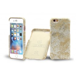 Graffi Cover - iPhone 7 Plus \\ Hard case - Sand silver