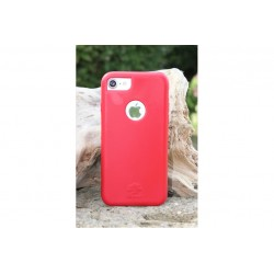 iNature Soft iPhone 7 Plus - Red \\ Custodia biodegradabile
