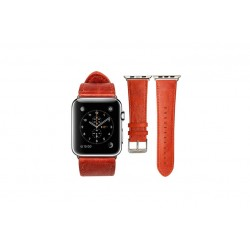 Cinturino Vintage Band 38mm Apple Watch \\ Rosso
