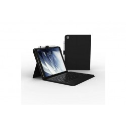 "ZAGG Messenger Folio \ Cover con tastiera per iPad 10,2""/Air 3/Pro 10,5"" - Layout IT - Nero"