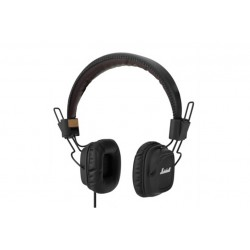 MARSHALL MAJOR FX APPLE NERO - CONFEZIONE APERTA \\ CUFFIE ON-EAR - JACK 3,5MM - NERO