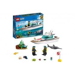 LEGO City Great Vehicles (60221)\\Yacht per immersioni