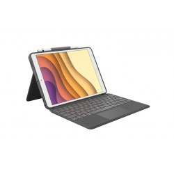 "Logitech Combo Touch - iPad Air 3 / Pro 10,5"" \\ Custodia con tastiera e Trackpad"