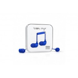 Happy Plugs In-ear \\ Auricolari in-ear - jack 3,5mm - Blu