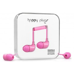 Happy Plugs In-ear \\ Auricolari in-ear - jack 3,5mm - Rosa