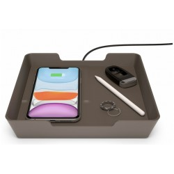 Einova - Wireless Valet Tray - Bronze