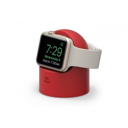 elago W2 Night Stand \\ Stand in silicone per ricarica Apple Watch - Red