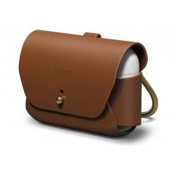 ELAGO AIRPODS PRO LEATHER CASE - BROWN