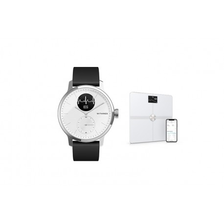 BUNDLE Withings ScanWatch e Body+ 42mm